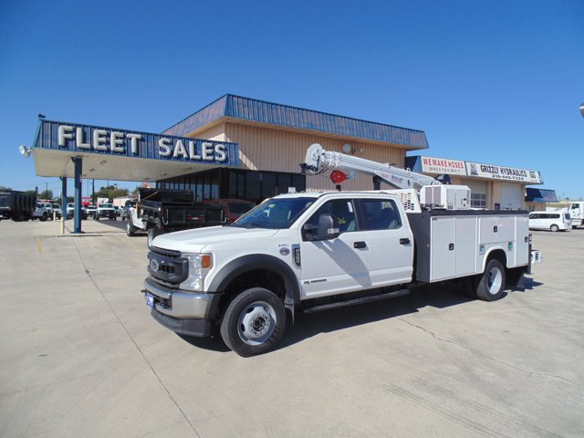 2020 Ford F-550 Crew Cab DRW 4x4, Knapheide Mechanics Body #204422 - photo 1