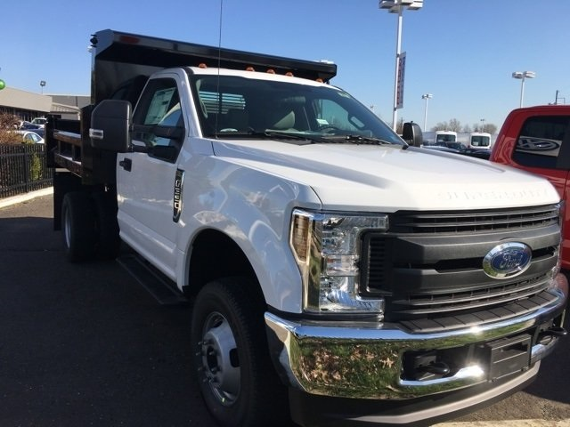 2018 F-350 Regular Cab DRW 4x4, Rugby Dump Body #10694 - photo 4