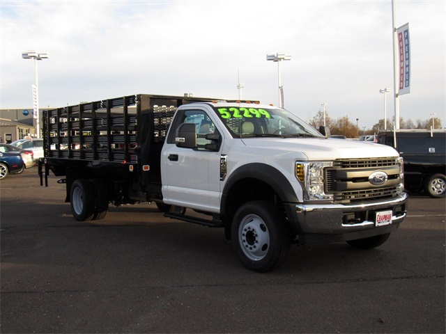 2018 F-450 Regular Cab DRW 4x2,  Knapheide Stake Bed #A11402 - photo 5