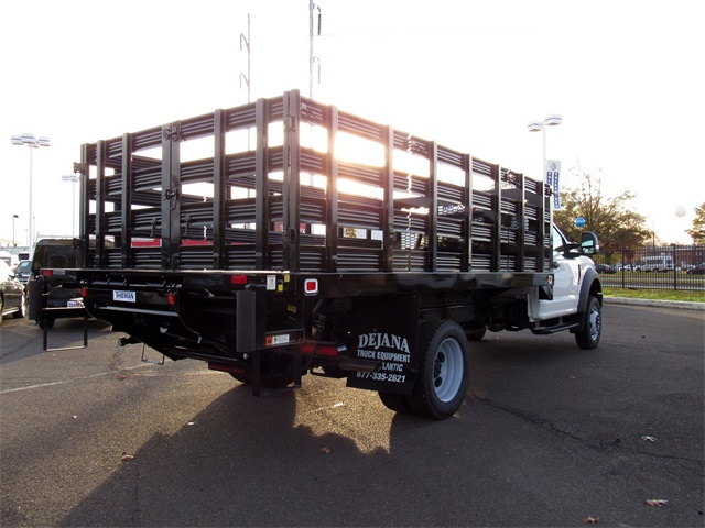 2018 F-450 Regular Cab DRW 4x2,  Knapheide Stake Bed #A11402 - photo 4