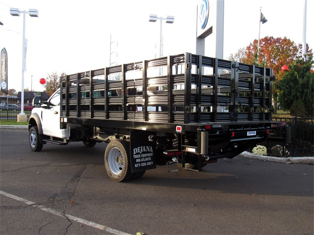 2018 F-450 Regular Cab DRW 4x2,  Knapheide Stake Bed #A11402 - photo 2