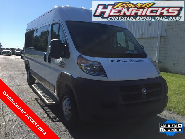 2018 ProMaster 2500 High Roof FWD,  Mobility #N18492 - photo 1