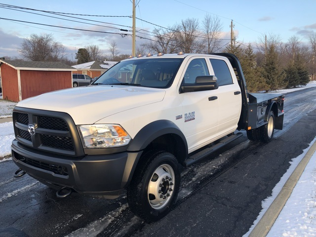 2018 Ram 5500 Crew Cab DRW 4x4,  Platform Body #N18523 - photo 6
