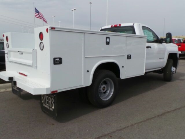 2017 Silverado 3500 Regular Cab DRW 4x4, Knapheide Service Body #173078 - photo 6