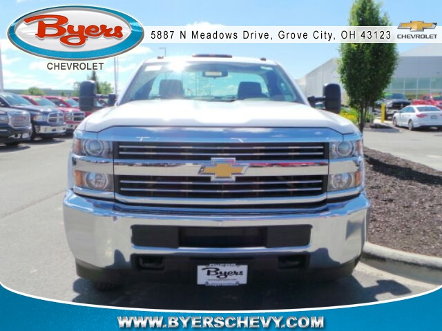 2017 Silverado 3500 Regular Cab DRW 4x4, Knapheide Service Body #173115 - photo 4