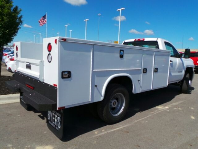 2017 Silverado 3500 Regular Cab DRW 4x4, Knapheide Service Body #173115 - photo 6