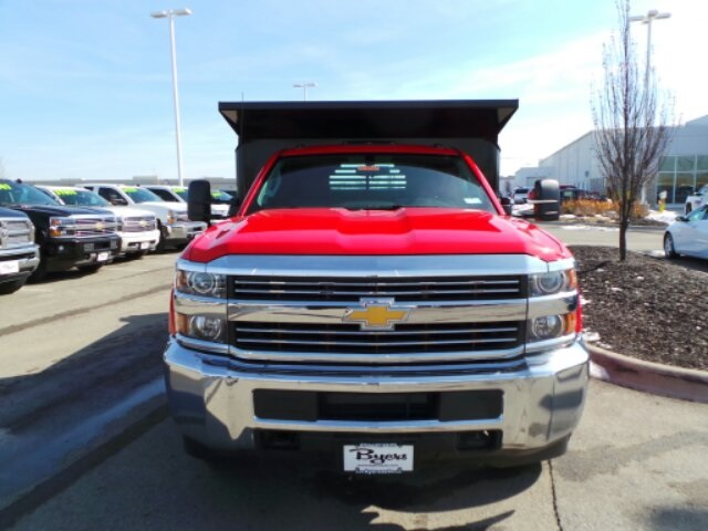 2017 Silverado 3500 Regular Cab DRW, Crysteel Dump Body #173157 - photo 3