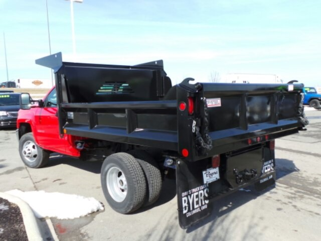 2017 Silverado 3500 Regular Cab DRW, Crysteel Dump Body #173157 - photo 5