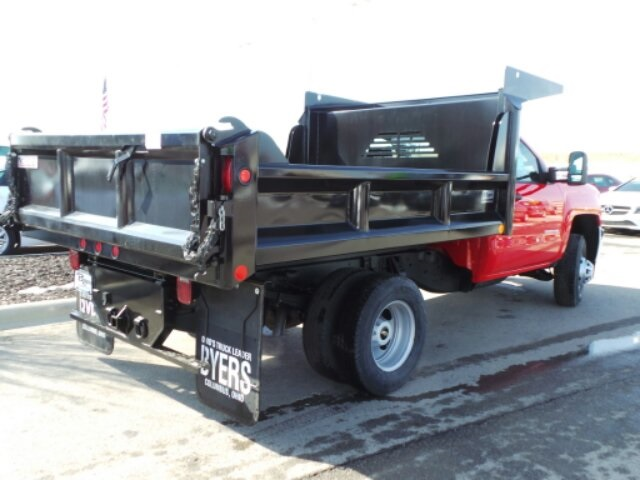 2017 Silverado 3500 Regular Cab DRW, Crysteel Dump Body #173157 - photo 2