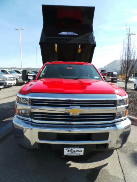 2017 Silverado 3500 Regular Cab DRW, Crysteel Dump Body #173157 - photo 9