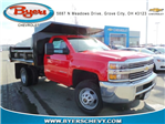 2017 Silverado 3500 Regular Cab DRW, Crysteel Dump Body #173157 - photo 1