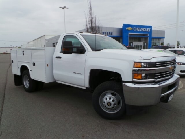 2017 Silverado 3500 Regular Cab DRW 4x2,  Knapheide Service Body #173191 - photo 29