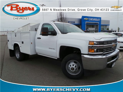 2017 Silverado 3500 Regular Cab DRW 4x2,  Knapheide Standard Service Body #173191 - photo 1