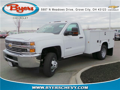 2017 Silverado 3500 Regular Cab DRW 4x2,  Knapheide Standard Service Body #173191 - photo 3