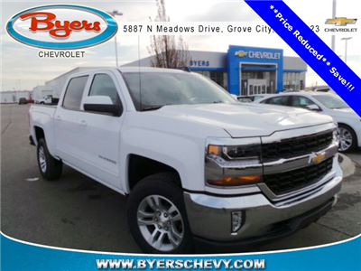 2018 Silverado 1500 Crew Cab 4x4,  Pickup #180410 - photo 3