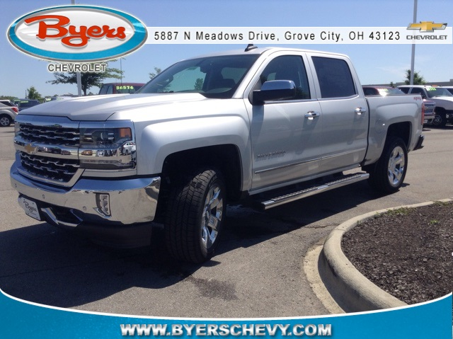 2018 Silverado 1500 Crew Cab 4x4,  Pickup #180741 - photo 1