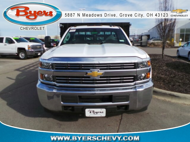 2018 Silverado 3500 Regular Cab DRW, Knapheide Stake Bed #183030 - photo 4
