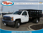 2018 Silverado 3500 Regular Cab DRW, Knapheide Stake Bed #183030 - photo 1