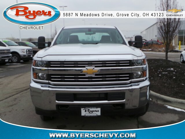 2018 Silverado 3500 Double Cab 4x4, Knapheide Service Body #183052 - photo 4