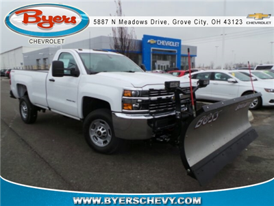 2018 Silverado 2500 Regular Cab 4x4,  Pickup #183054 - photo 3
