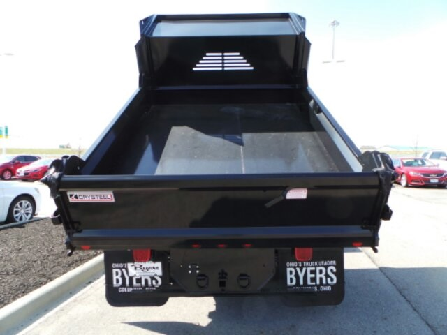 2018 Silverado 3500 Crew Cab DRW 4x4,  Crysteel Dump Body #183055 - photo 11