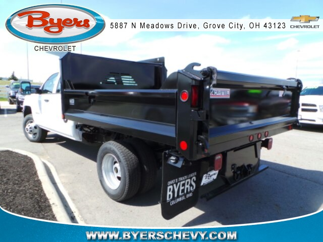 2018 Silverado 3500 Crew Cab DRW 4x4,  Crysteel Dump Body #183055 - photo 2