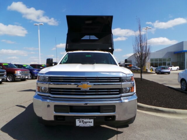 2018 Silverado 3500 Crew Cab DRW 4x4,  Crysteel E-Tipper Dump Body #183055 - photo 8