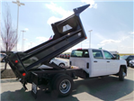 2018 Silverado 3500 Crew Cab DRW 4x4,  Crysteel E-Tipper Dump Body #183055 - photo 12