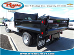2018 Silverado 3500 Crew Cab DRW 4x4,  Crysteel E-Tipper Dump Body #183055 - photo 2