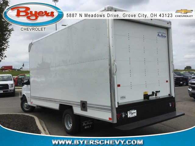 2018 Express 3500 4x2,  Bay Bridge Cutaway Van #183097 - photo 2