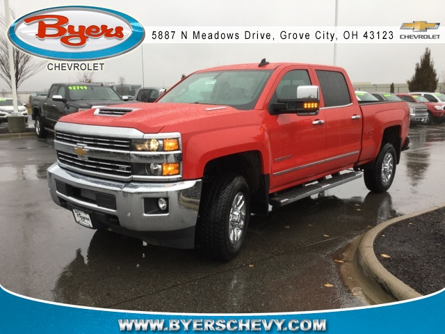 2019 Silverado 2500 Crew Cab 4x4,  Pickup #190215 - photo 1