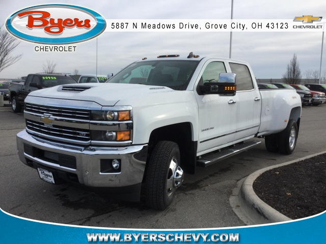 2019 Silverado 3500 Crew Cab 4x4,  Pickup #190246 - photo 4