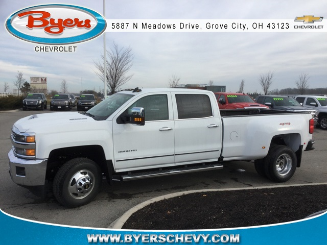 2019 Silverado 3500 Crew Cab 4x4,  Pickup #190246 - photo 5