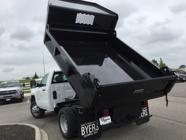 2019 Silverado 3500 Regular Cab DRW 4x2,  Knapheide Dump Body #193002 - photo 11