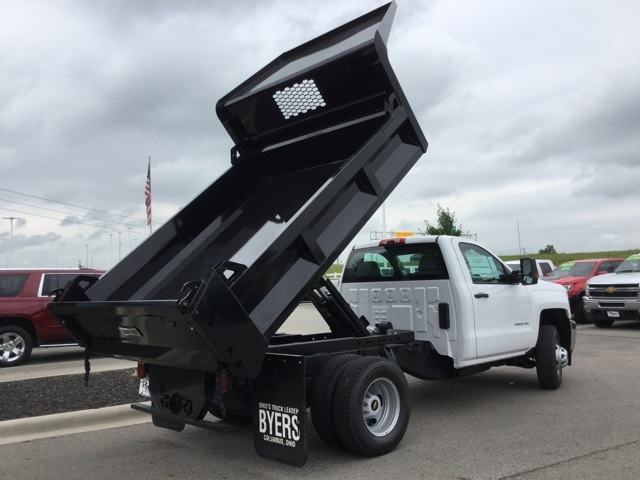 2019 Silverado 3500 Regular Cab DRW 4x2,  Knapheide Dump Body #193002 - photo 13