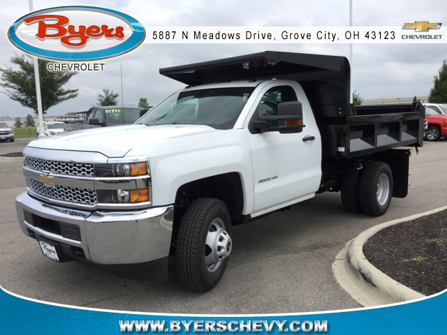 2019 Silverado 3500 Regular Cab DRW 4x2,  Knapheide Dump Body #193002 - photo 4
