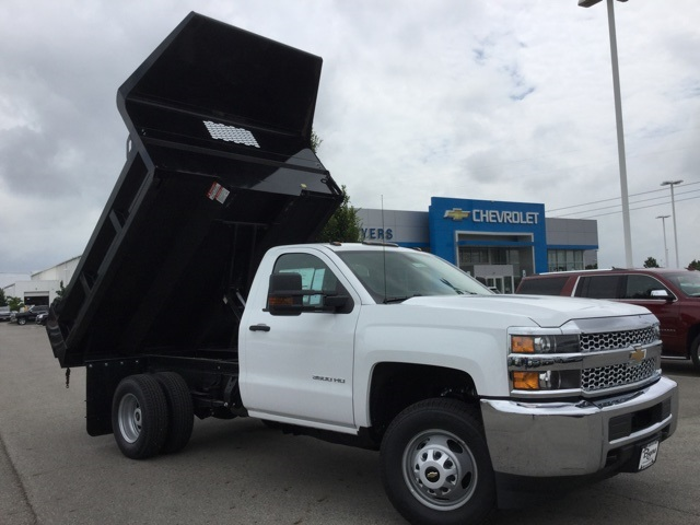 2019 Silverado 3500 Regular Cab DRW 4x2,  Knapheide Dump Body #193002 - photo 8