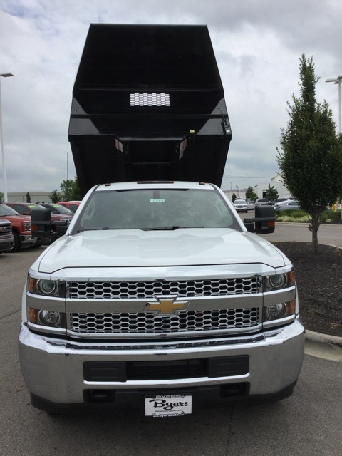 2019 Silverado 3500 Regular Cab DRW 4x2,  Knapheide Dump Body #193002 - photo 9