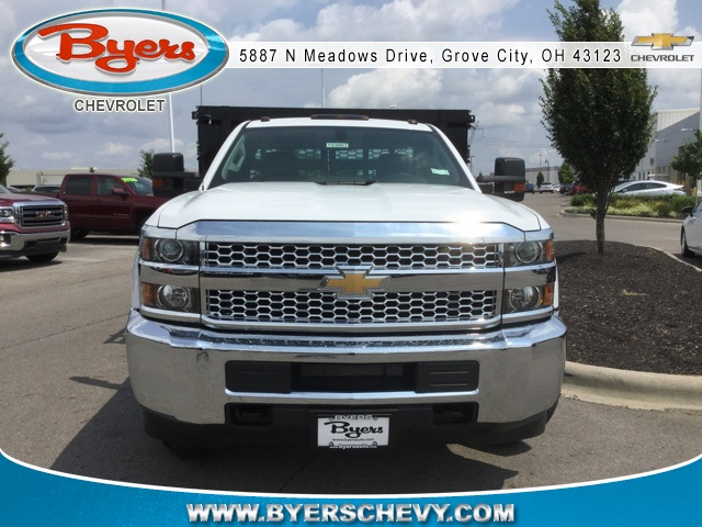 2019 Silverado 3500 Regular Cab DRW 4x2,  Knapheide Stake Bed #193003 - photo 4