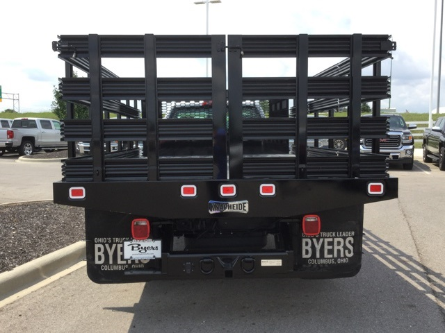 2019 Silverado 3500 Regular Cab DRW 4x2,  Knapheide Stake Bed #193003 - photo 5