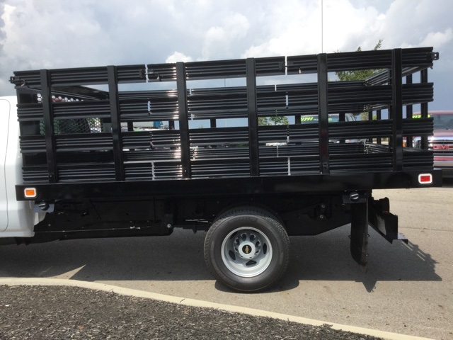 2019 Silverado 3500 Regular Cab DRW 4x2,  Knapheide Stake Bed #193003 - photo 7