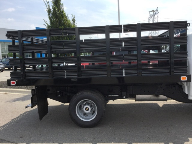 2019 Silverado 3500 Regular Cab DRW 4x2,  Knapheide Stake Bed #193003 - photo 8
