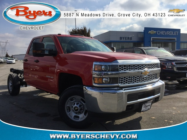 2019 Silverado 2500 Double Cab 4x4,  Cab Chassis #193018 - photo 3
