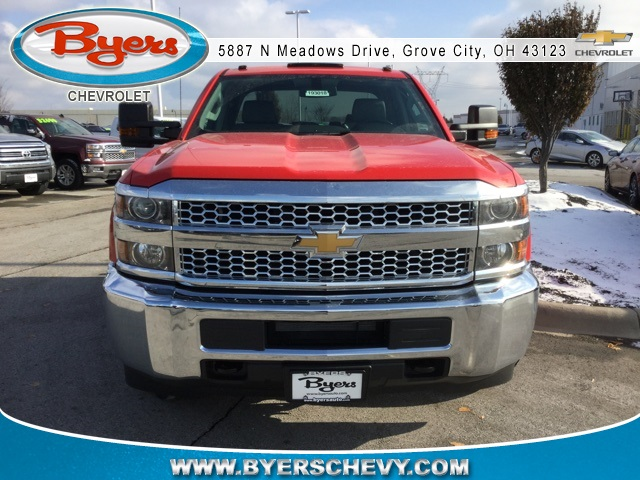 2019 Silverado 2500 Double Cab 4x4,  Cab Chassis #193018 - photo 4