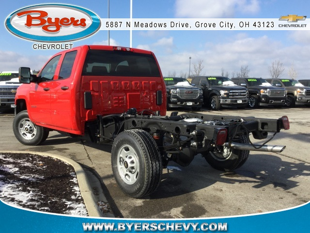 2019 Silverado 2500 Double Cab 4x4,  Cab Chassis #193018 - photo 2