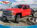 2019 Silverado 2500 Double Cab 4x4,  Cab Chassis #193018 - photo 1