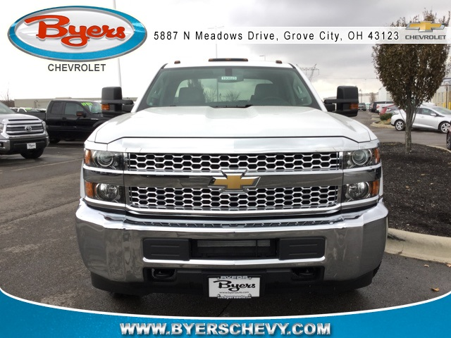 2019 Silverado 2500 Double Cab 4x4,  Cab Chassis #193023 - photo 4