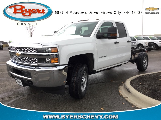 2019 Silverado 2500 Double Cab 4x4,  Cab Chassis #193023 - photo 1