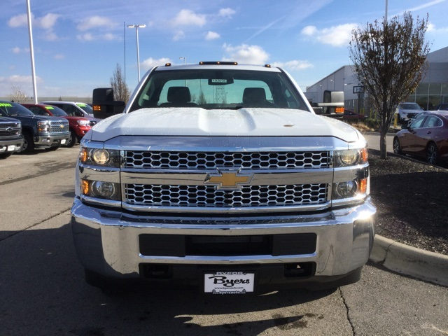 2019 Silverado 3500 Regular Cab DRW 4x4,  Crysteel Dump Body #193036 - photo 8