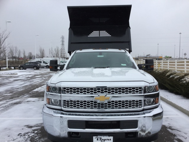 2019 Silverado 3500 Regular Cab DRW 4x4,  Crysteel Dump Body #193036 - photo 3